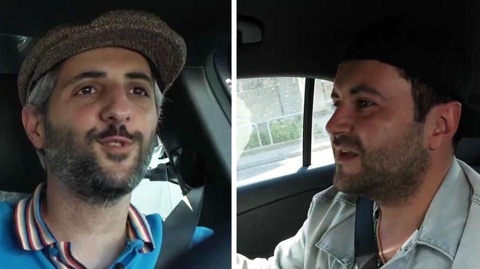 Alman-Taxi mit Rapper Chefket
