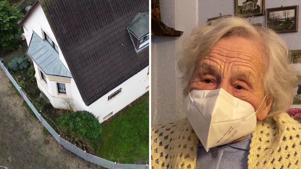 Stadt Bielefeld zäunt 95-jährige Seniorin ein