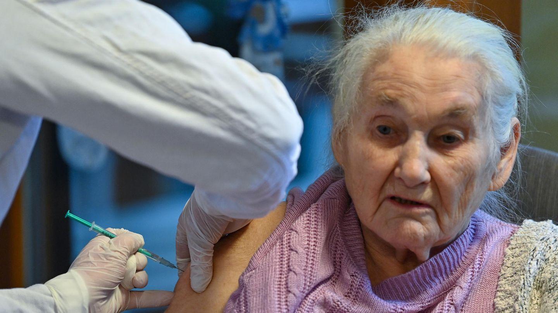 Corona-Impfung im Pflegeheim