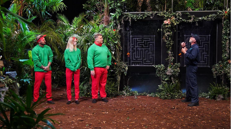Dr. Bob begrüßt die Kandidaten am ersten Tag der Dschungelshow zur Prüfung. Ihre Aufgabe ist es, ein Geschicklichkeitsspiel zu meistern. Während das Wasser langsam steigt, sollen sie einen Schlüssel durch ein Labyrinth führen. Doch je länger es dauert und je mehr Fehler sie machen, desto mehr Getier kommt zu Besuch.