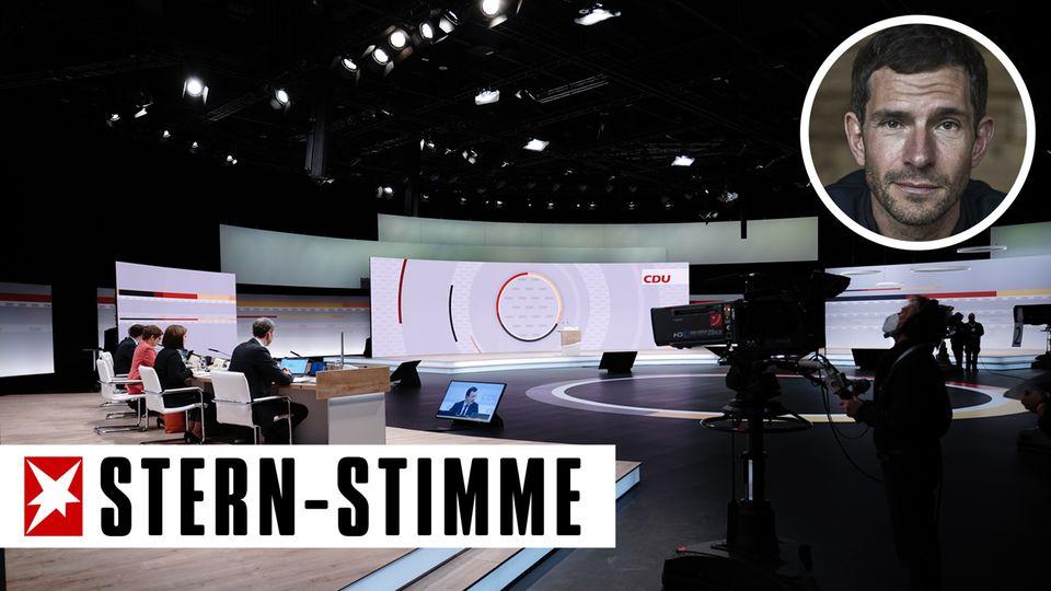 Die Arena der CDU.