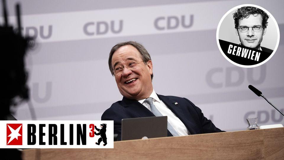 Armin Laschet, Ministerpräsident von Nordrhein-Westfalen und neuer CDU-Parteivorsitzender