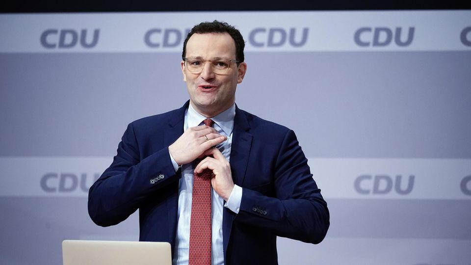 Jens Spahn beim CDU-Bundesparteitag