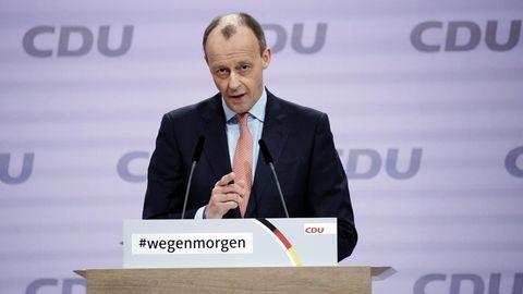 Friedrich Merzbeim digitalen Bundesparteitag der CDU