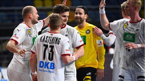 Am Freitag feierte die deutsche Mannschaft noch ihren Sieg.