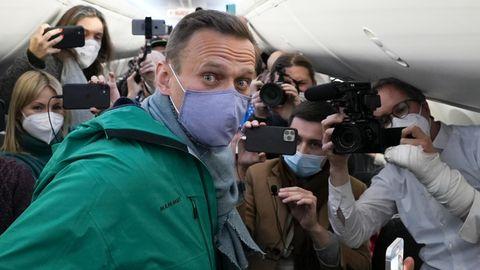 Zu 30 Tagen Haft verurteilt: Die Verhaftung Nawalnys zeigt vor allem eines: Wie viel Angst Putin vor ihm hat