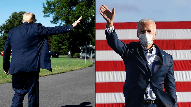 US-Präsident Donald Trump und sein Nachfolger Joe Biden
