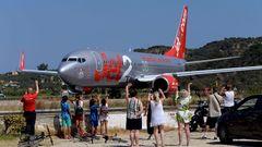 Jet2, eine Airline mit Sitz im englischen Leeds, sorgte ebenfalls dafür, dass britische Urlauber auf die Ferieninsel kamen. Sie setzte Boeing 737 ein.