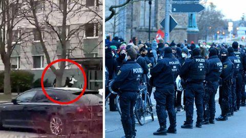 Polizei in Magdeburg