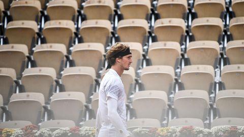Alexander Zverev bei den French Open 2020