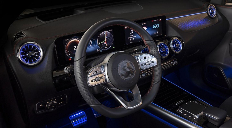 Das Interieur ist von anderen Mercedes-Modellen bekannt