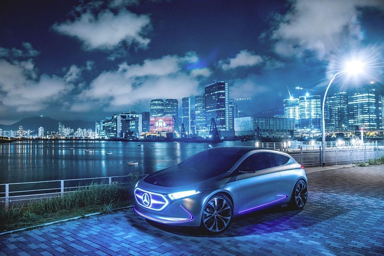 Das Mercedes Concept EQA gab schon einen Ausblick auf den jetzigen EQA