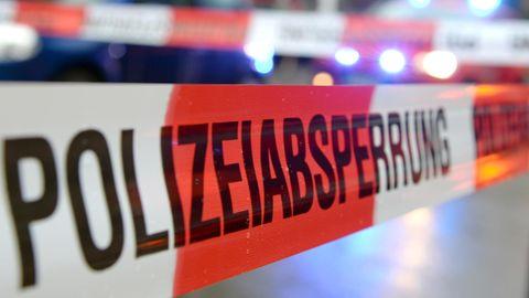 Polizeiabsperrung als Symbolfoto für Nachrichten aus Deutschland