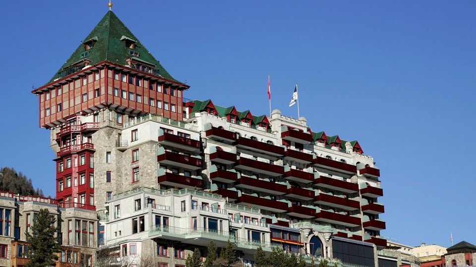 Gehört zu denSwiss Historic Hotels: Das 1896 eröffneteBadrutt's Palace Hotel in St. Moritz
