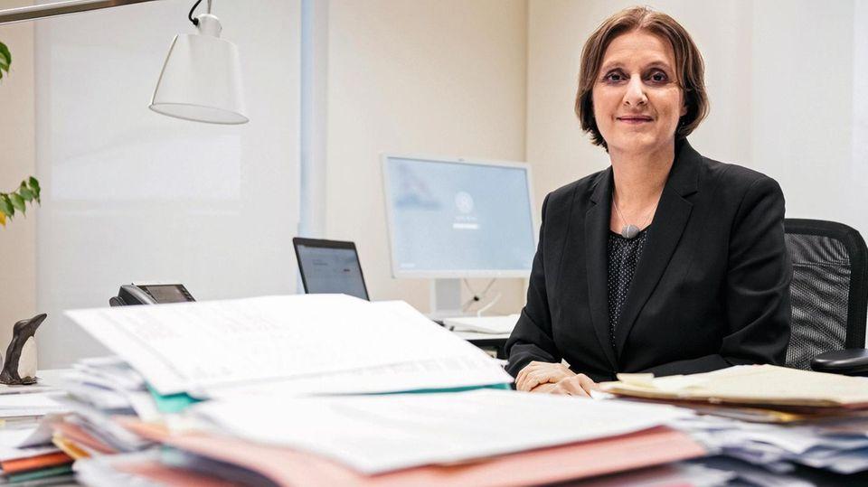 Britta Ernst, Ministerin für Bildung, Jugend und Sport in Brandenburg und Präsidentin der Kultusministerkonferenz 2021.