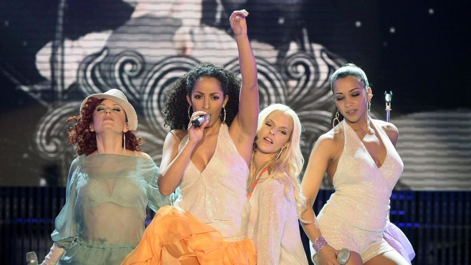 No Angels auf einer Bühne