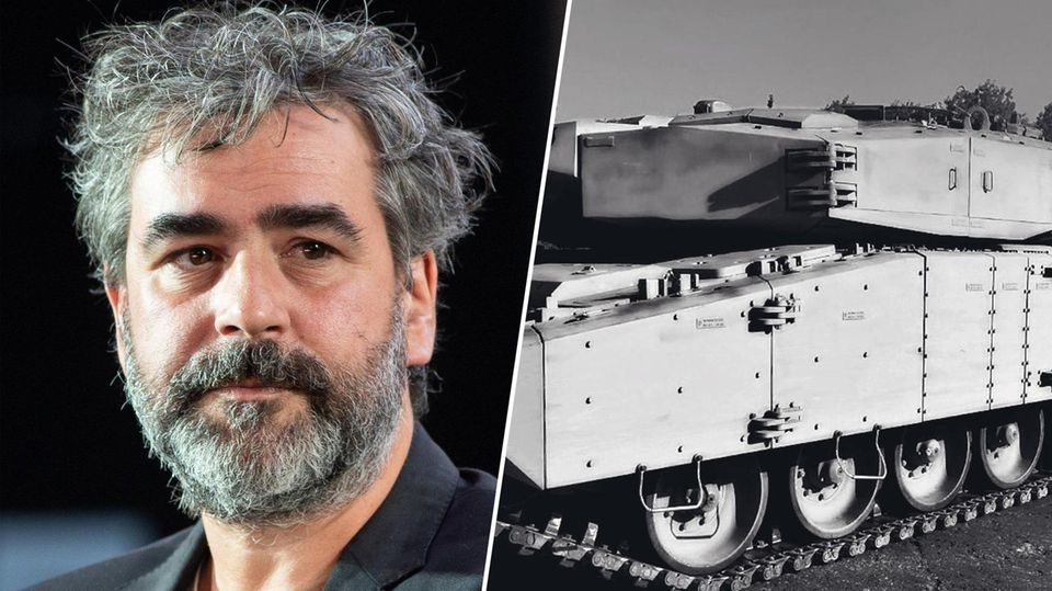 """Deniz Yücel war als """"Welt""""-Korrespondent in der Türkei und wurde dort im Februar 2017 wegen angeblicher """"Terrorpropaganda"""" inhaftiert. Nach seiner Freilassung beteuerte die Bundesregierung, dass keine Deals gemacht wurden. Im August stellte die Türkei diesen nachgerüsteten Leopard-Panzer vor, die neuen Schutzmodule ähneln sehr einem System aus Deutschland"""
