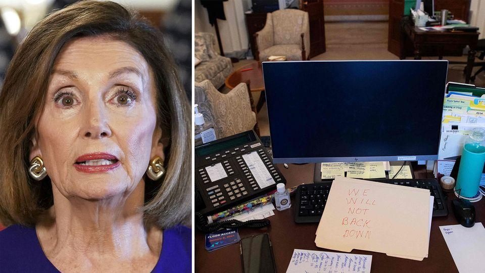 Nach Sturm auf Kapitol: Frau wollte gestohlenen Pelosi-Laptop an Russland verkaufen.