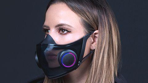 """Futuristische """"Smart-Maske"""": Neues Konzept erinnert an Science-Fiction-Filme"""