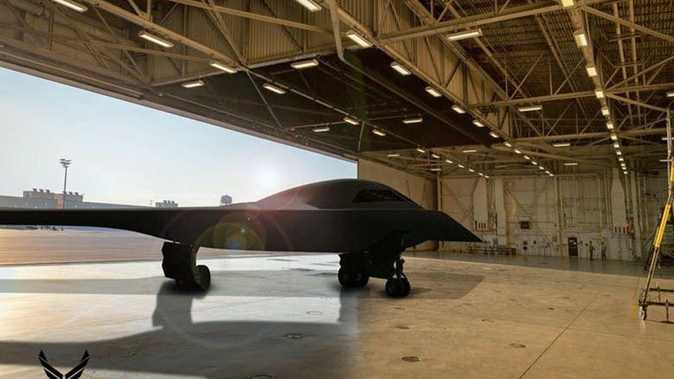 Das Nurflügler-Design soll den Radarschatten des Jets verringern.