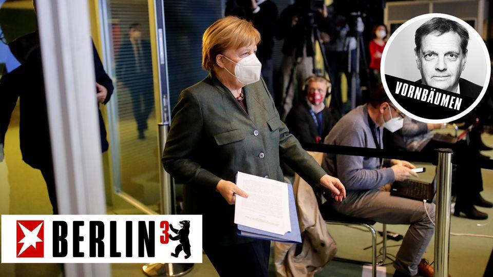 Merkel bleibt hart, auch wenn um sie herum überall Zeichen von bleierner Müdigkeit zu erkennen sind