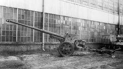 Die Pak 43 sollte auf Fahrgestelle montiert werden.