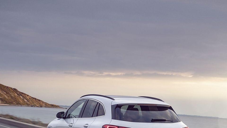 Der Mercedes EQA steht auf der MFA 2 -Plattform