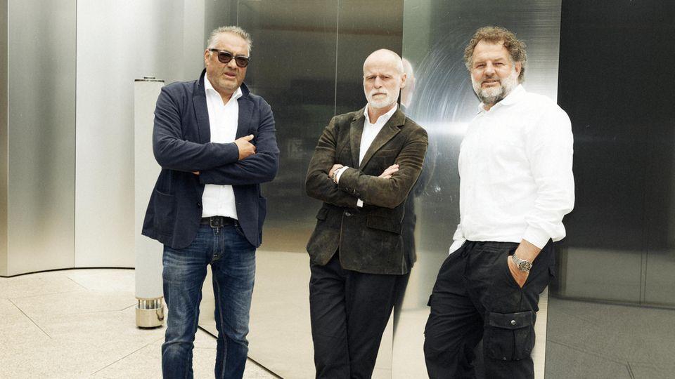 Die drei Gründer Hans Reisetbauer, Markus Meindl und Tom Wallmann (v.l.n.r.)