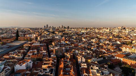 Die spanische Hauptstadt Madrid (Archivbild)