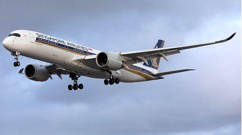 Statt mit einem großen Airbus A380 fliegt Singapore Airlines mit Airbus A350 nach Frankfurt, München und Zürich.
