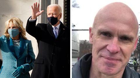stern-Journalist Jan Christoph Wiechmann zur Amtseinführung von Joe Biden