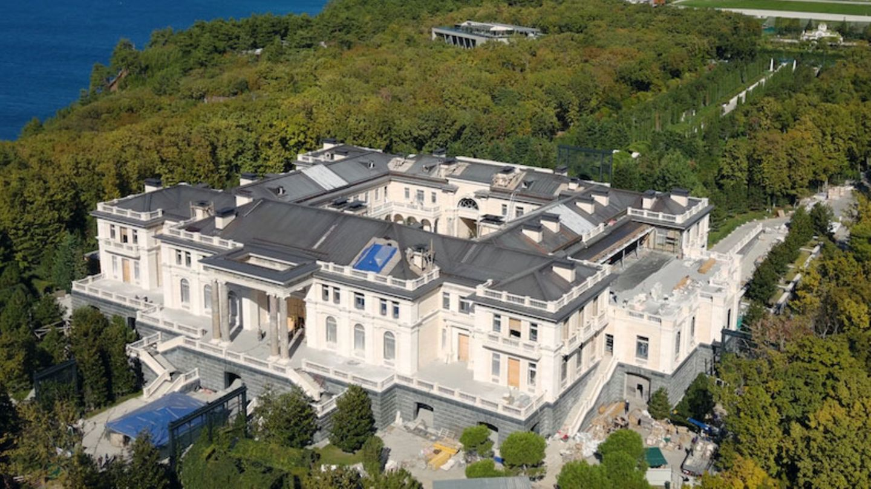 Der Palast Putins an der Schwarzmeerküste