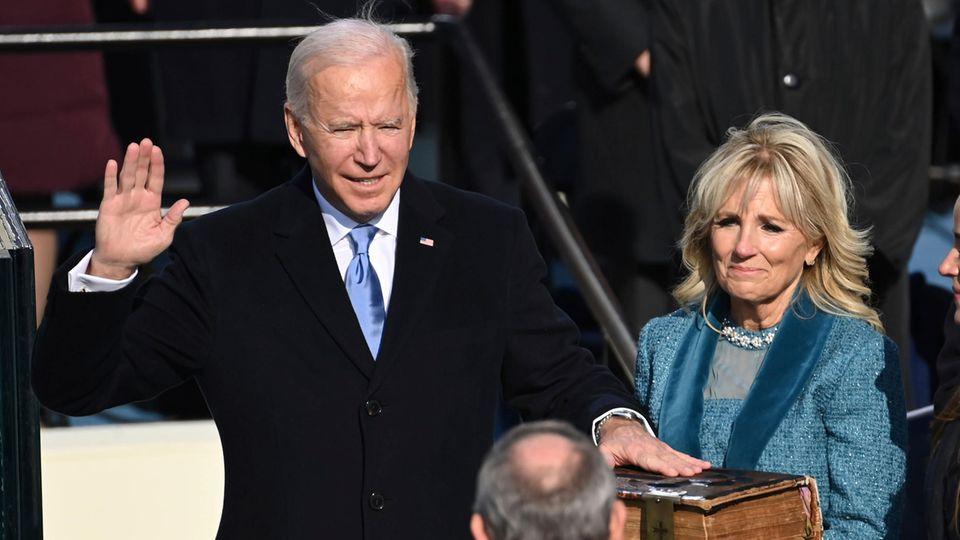 Joe Biden als US-Präsident vereidigt