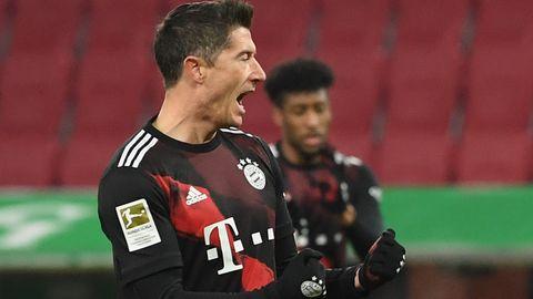Unglaubliche 22 Tore hat Robert Lewandowski nach 17 Spielen in der Bundesliga erzielt