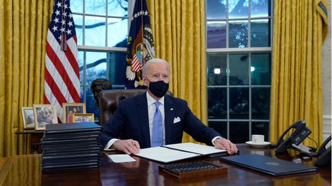 Biden Oval Office