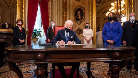 US-Präsident Joe Biden und Vizepräsidentin Kamala Harris