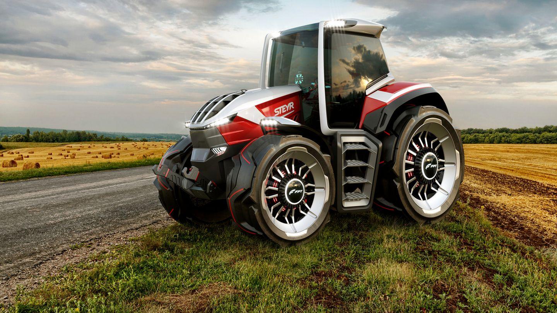 """Der Traktor zeigt sich im """"Big Foot""""-Look"""