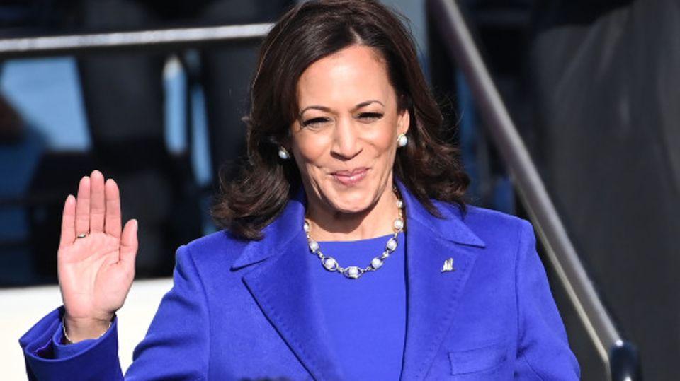 Sie ist die erste schwarze Frau als US-Vizepräsidentin: Kamala Harris