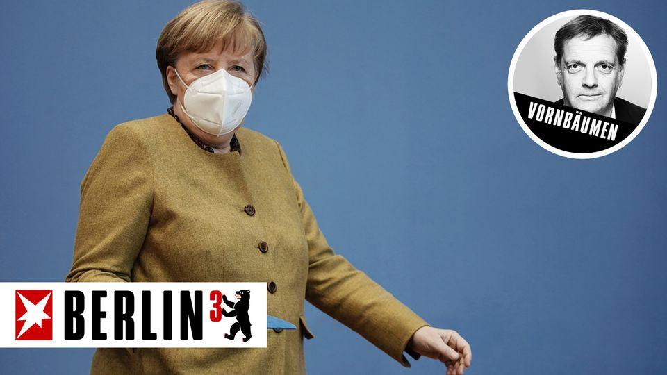 Berlin³: Gefordert, aber fest im Sattel: die Kanzlerin als routinierte Krisenmanagerin