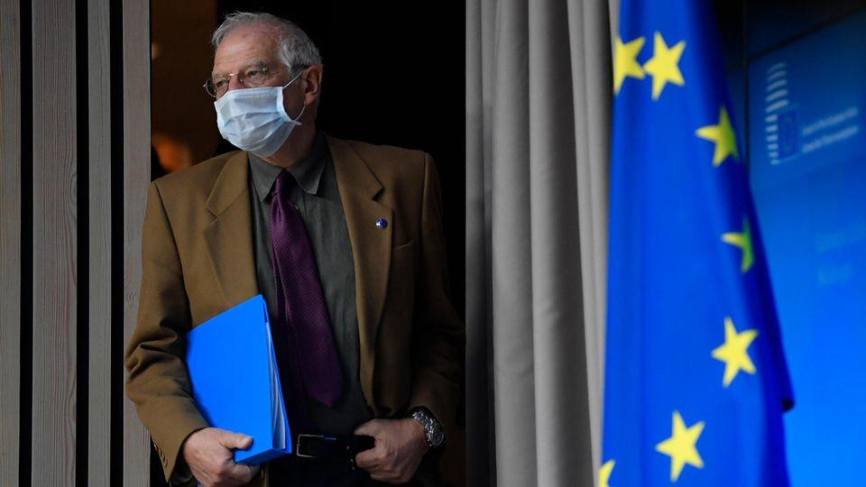 Der EU-Außenbeauftragte Josep Borrell