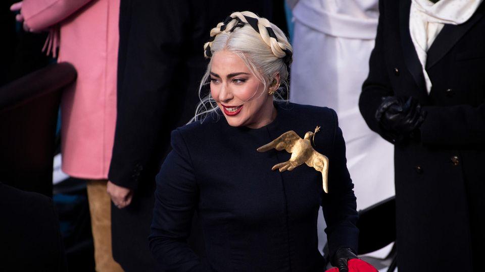 Lady Gaga bei der Amtseinführung 2021