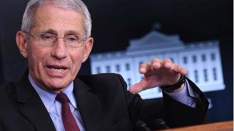 Top-Immunologe Anthony Fauci spricht in Sachen Corona wieder für die US-Regierung