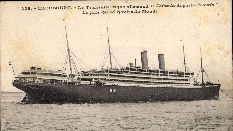 """22. Januar 1891: Start der ersten Kreuzfahrt der Welt   Dies ist die """"Augusta Victoria"""", einst das größte deutsche Passagierschiff. 1888/89 war das. Zwei Jahre später, am 22. Januar 1891, stach der Dampfer der Reederei Hapag von Cuxhaven aus zur allerersten Kreuzfahrt der Welt in See. Zwei Monate lang dauerte die """"Vergnügungsreise"""", angelaufen wurden unter anderem Gibraltar, Alexandria, Malta, Neapel und Konstantinopel (das heutige Istanbul). Landausflüge gab es auch, auf dem Programm standen etwa Damaskus und Rom. Eigentlich verkehrte die """"Augusta Victoria"""" zwischen Hamburg und New York City im Liniendienst. Weil im Winter aber die Passagiere ausblieben, hatte Reeder Albert Ballin die Idee, das Schiff an gutbetuchte Spaßreisende zu vermieten. Knapp 250 von ihnen fanden sich für die Premiere ein."""