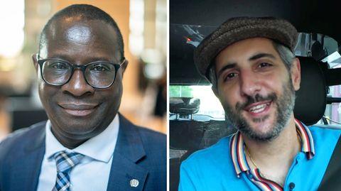 """Alman-Taxi"" mit SPD-Politiker Karamba Diaby"