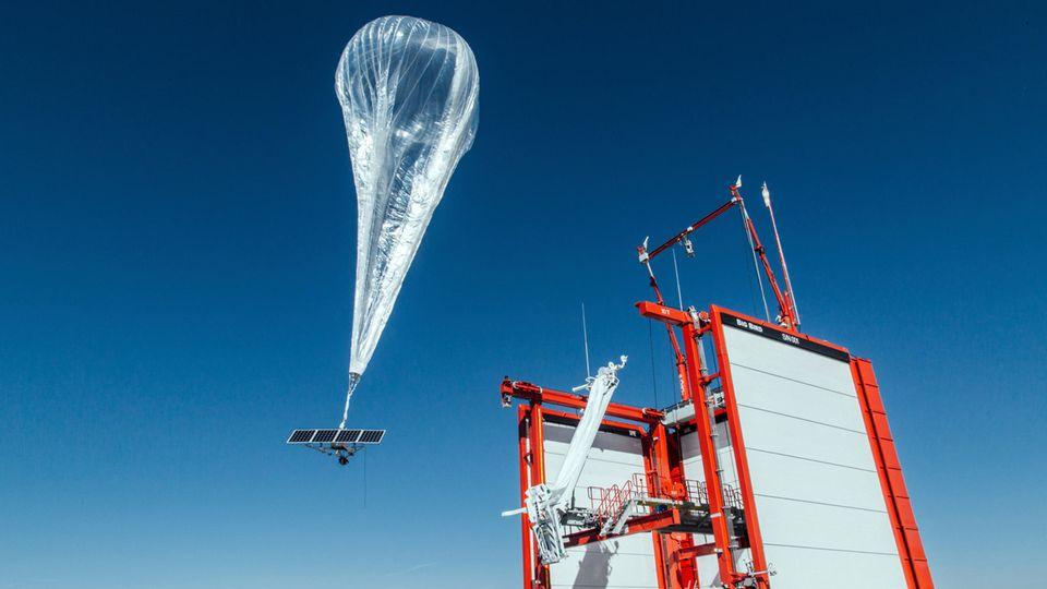 Mit Helium gefüllte Ballons sollten das Internet in entlegene Regionen der Welt bringen.