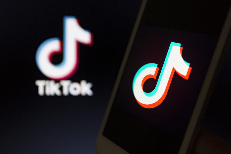 TikTok-App auf dem Smartphone