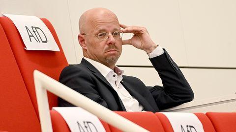 Andreas Kalbitz, früherer Fraktionsvorsitzender der Brandenburger Partei Alternative für Deutschland