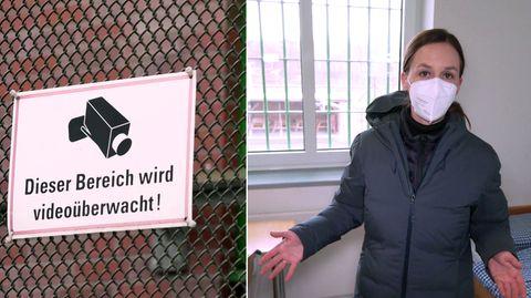 Corona-Gefängnis in Schleswig-Holstein
