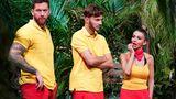 Es ist der achte Tag der Dschungelshow und der zweite Tag für sie:Oliver Sanne, Sam Dylan undChristina Dimitriou müssen zur Dschungelprüfung antreten, und wirken alles andere als begeistert.
