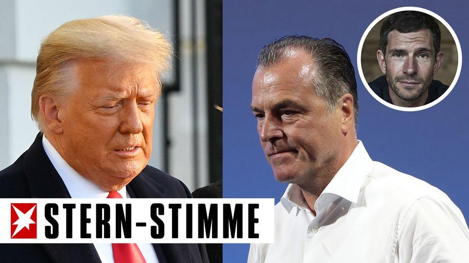 Donald Trump (l.) und Clemens Tönnies